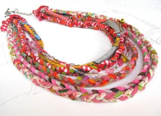 Текстильные украшения своими руками фото 738